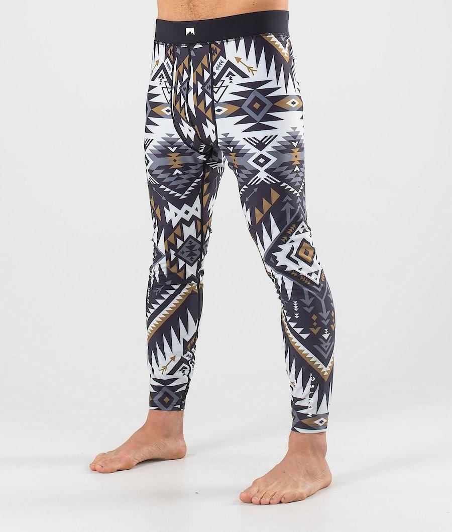 Montec Zulu Superundertøy bukse Komber Gold