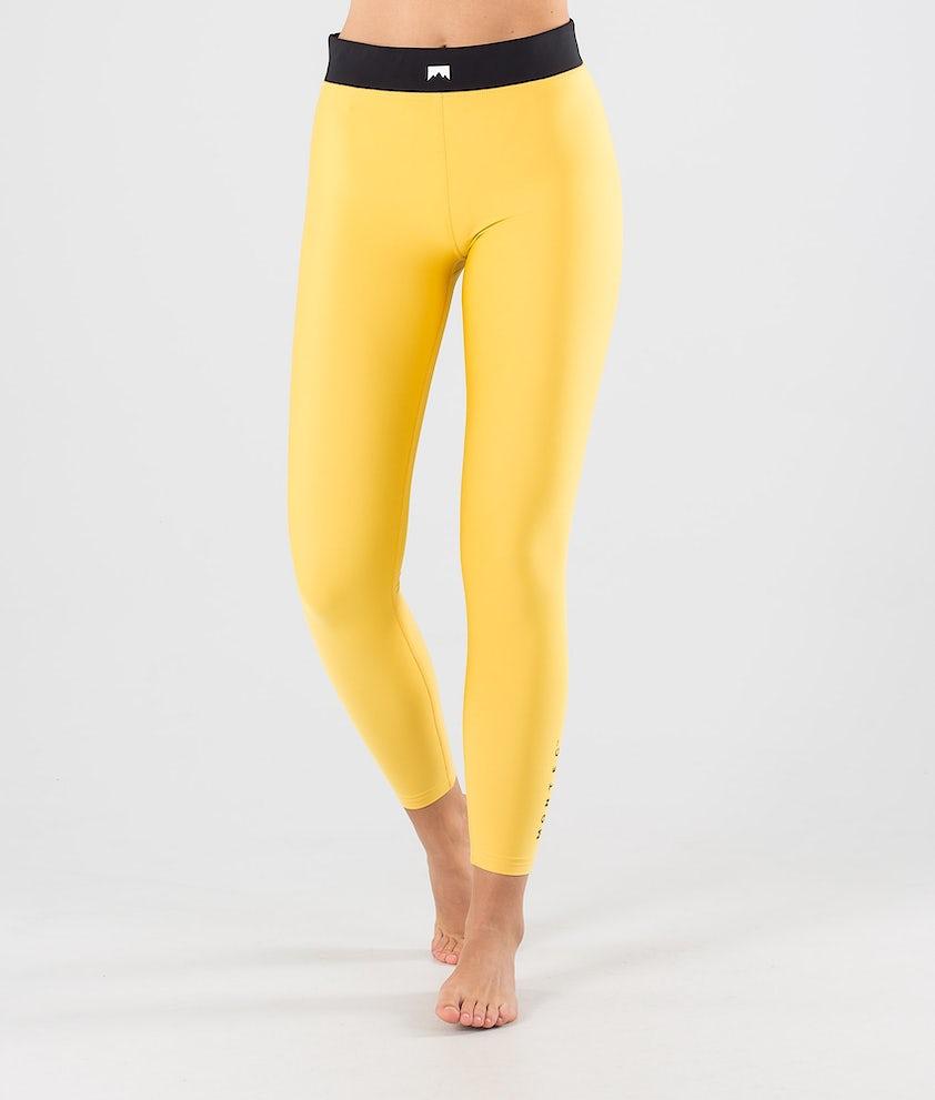 Montec Zulu W Underställsbyxa Yellow