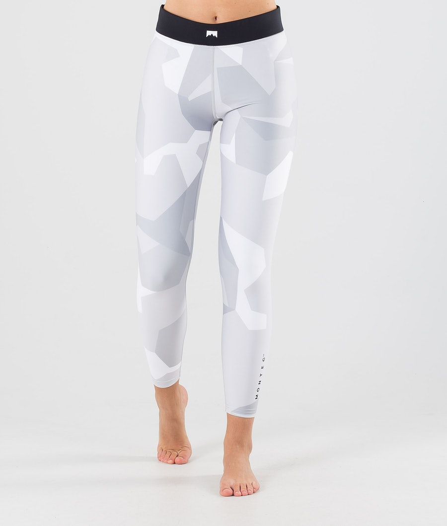 Montec Zulu W Base Layer Pant Snow Camo