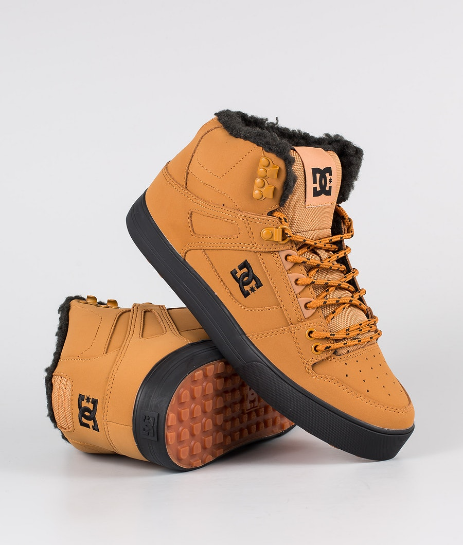 DC Pure High-Top Wc Wnt Shoes Wheat/Black