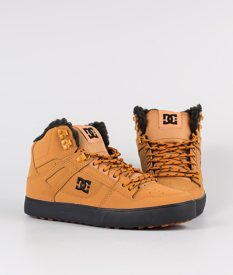 DC Pure High-Top Wc Wnt Chaussures Wheat/Black