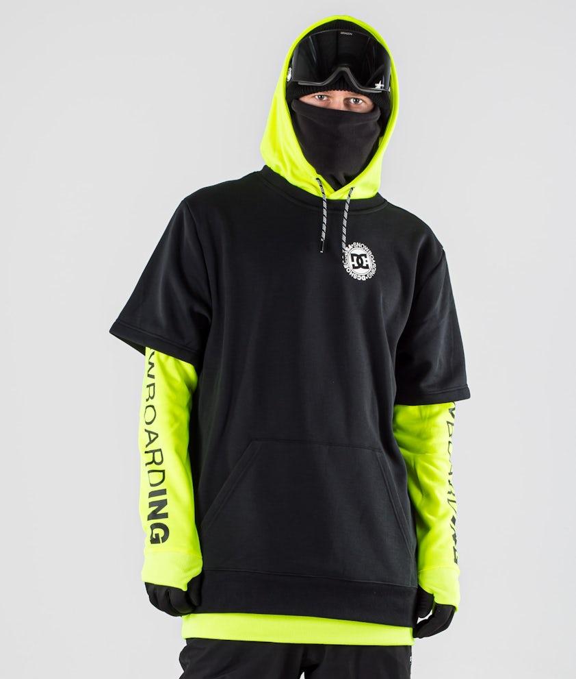 DC Dryden Snowboard Jacket Safety Yellow
