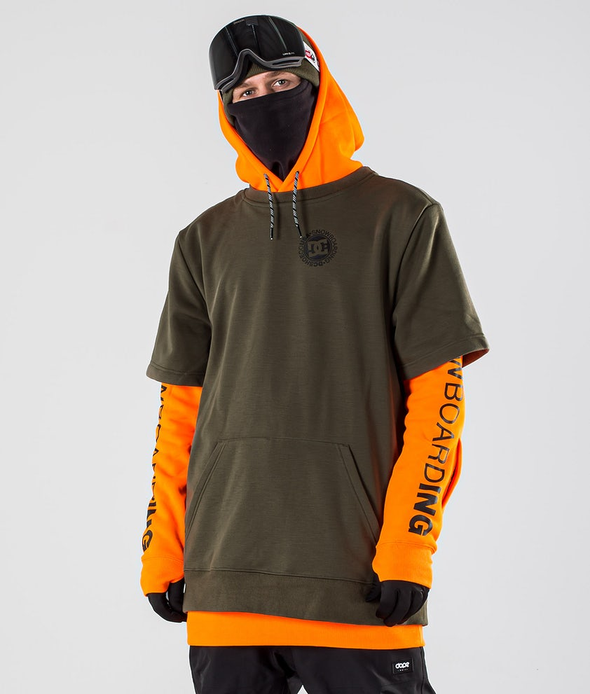DC Dryden Snowboardjakke Shocking Orange