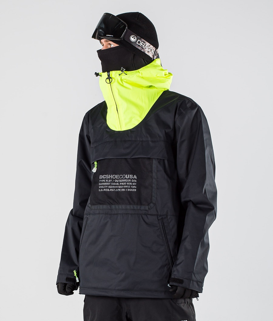 DC Asap Anorak Snowboard Jacket Black