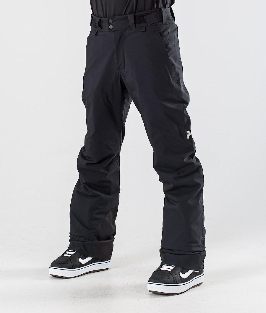 Peak Performance Maroon Snowboard Pants Black