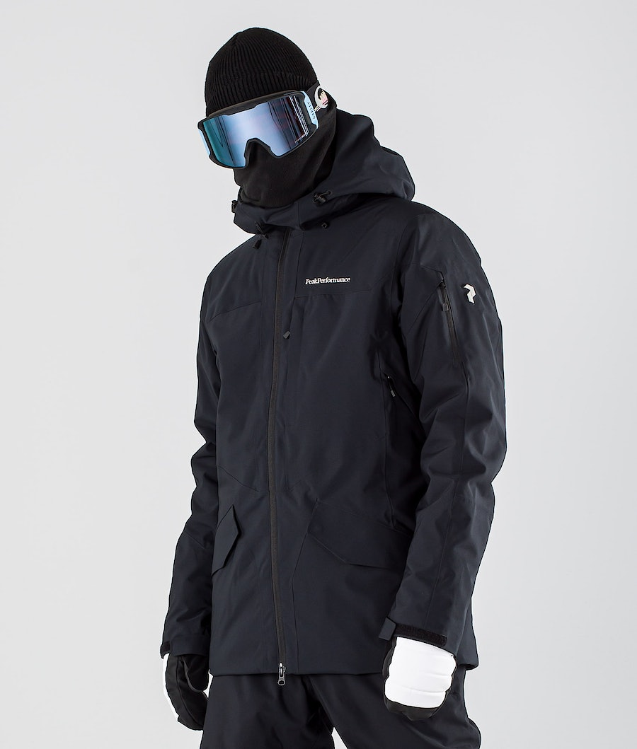 Peak Performance Maroon Long Snowboardjacka Black