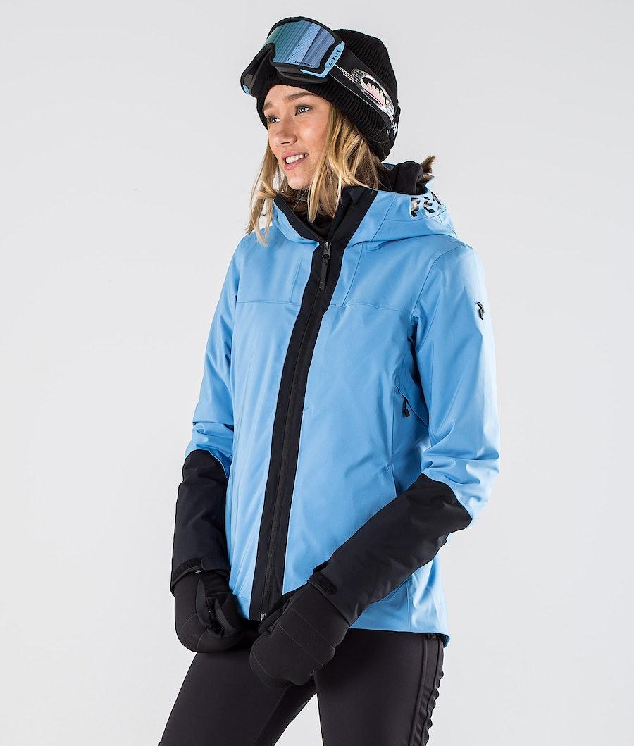 Peak Performance Rider Snowboard Jacket Blue Elevation
