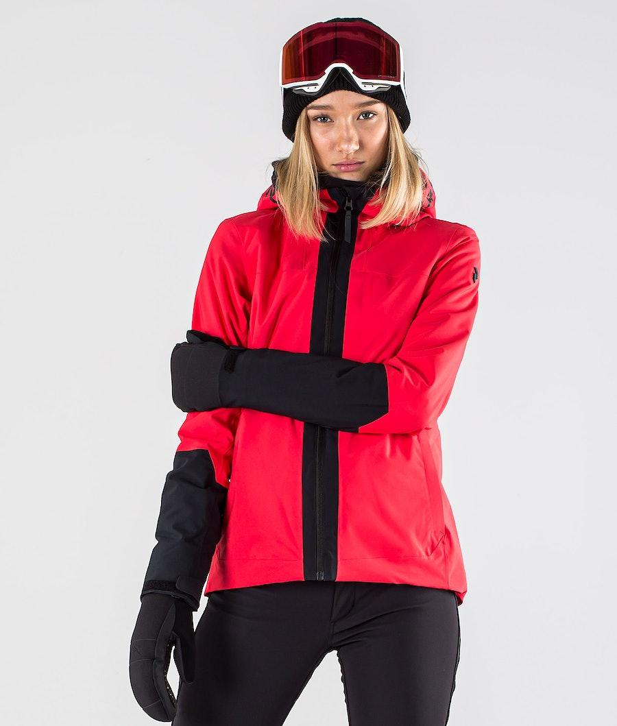 Peak Performance Rider Snowboard Jacket Polar Red