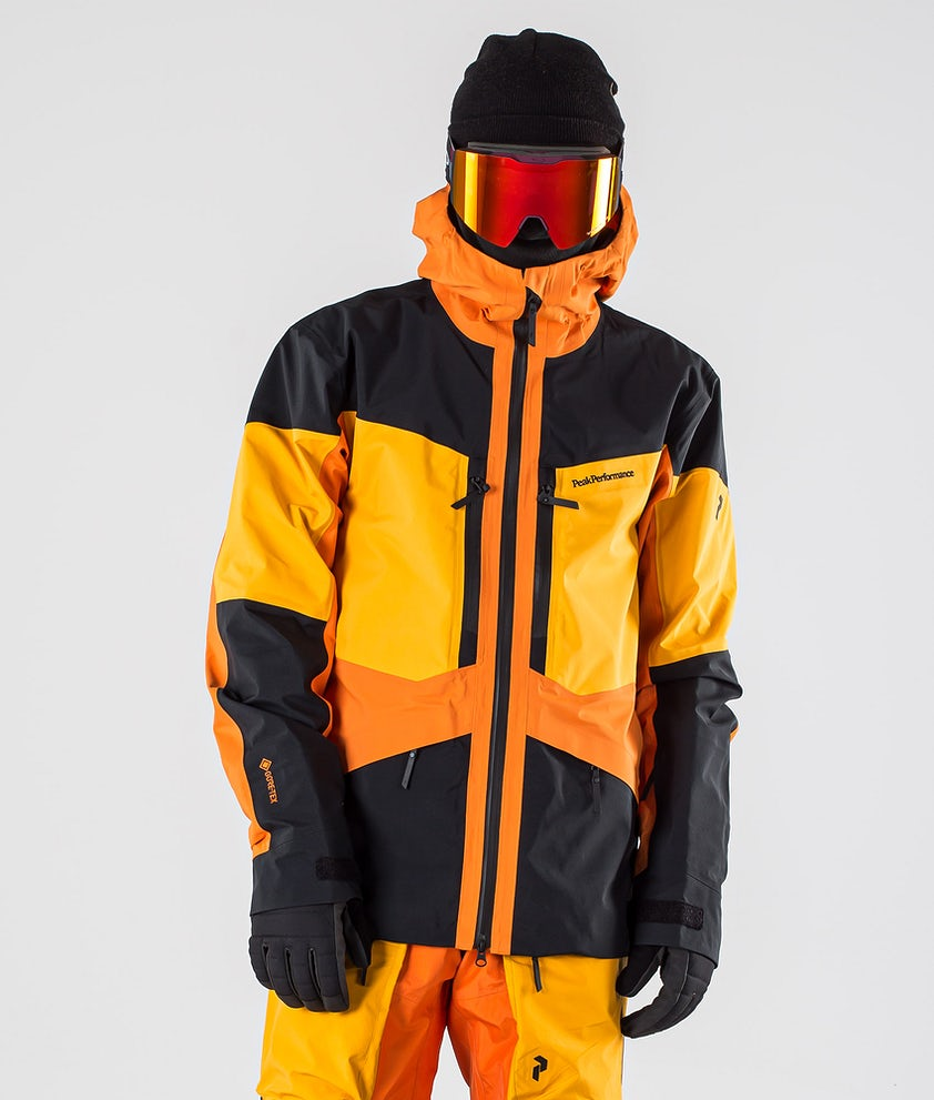 Peak Performance Gravity Snowboardjakke Orange Altitude