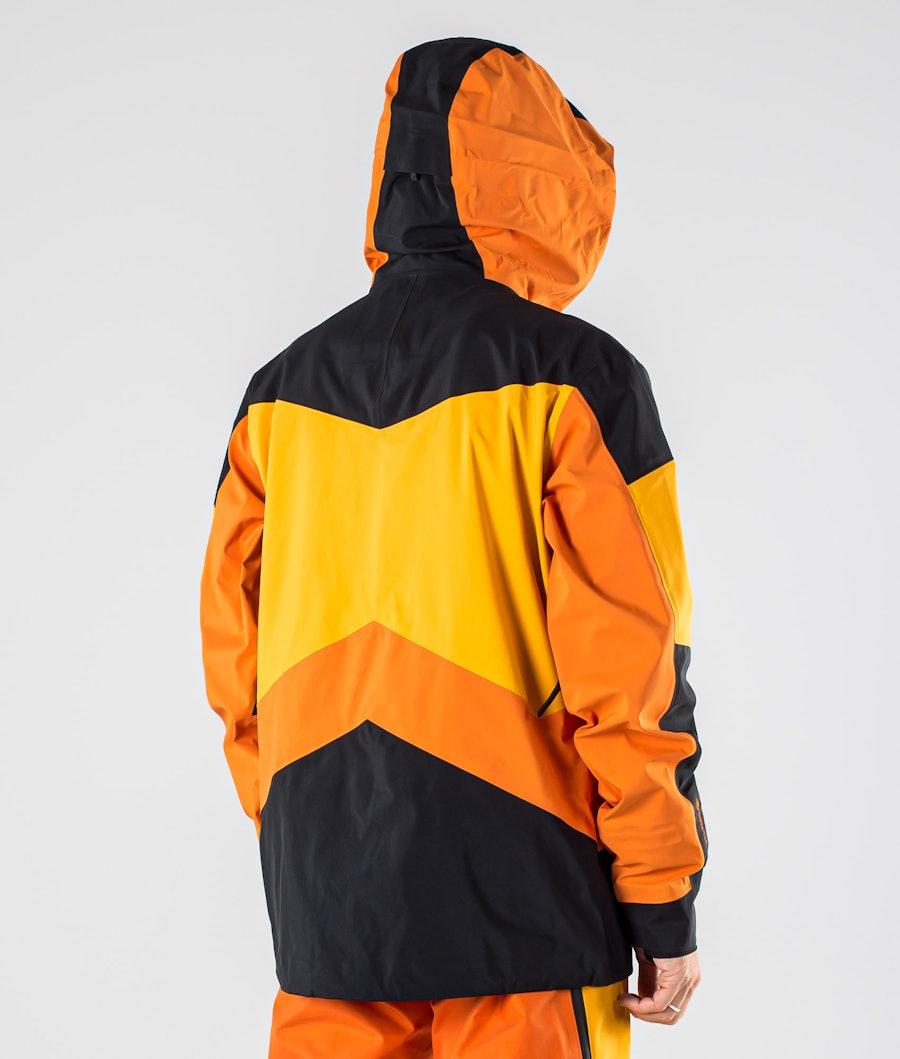 Peak Performance Gravity Snowboard jas Orange Altitude