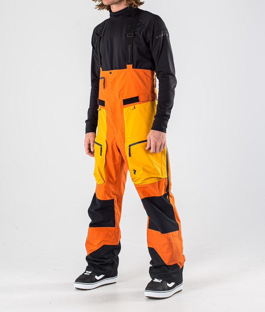 Peak Performance Vertical Pro Snowboardhose Orange Altitude