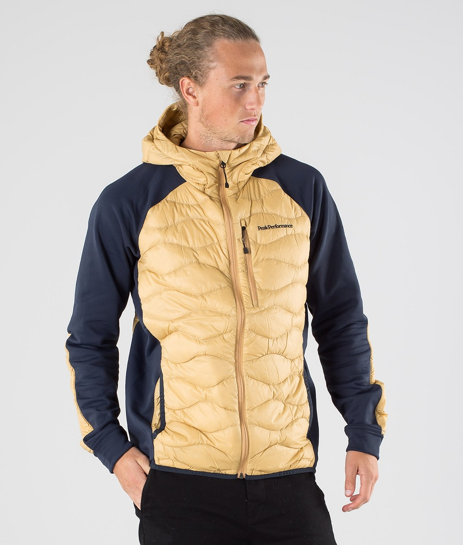 Peak Performance Helium Hybrid Hood Jacket Beige No.2