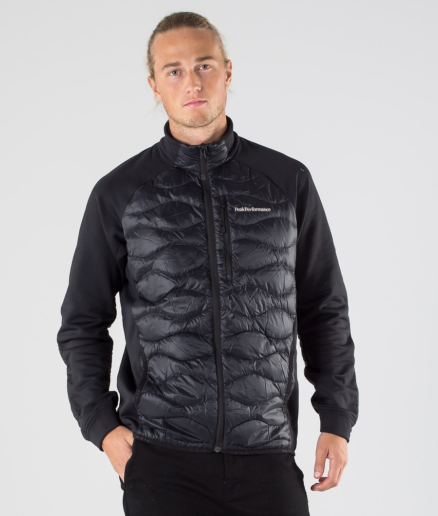 Peak Performance Helium Hybrid Jacket Black