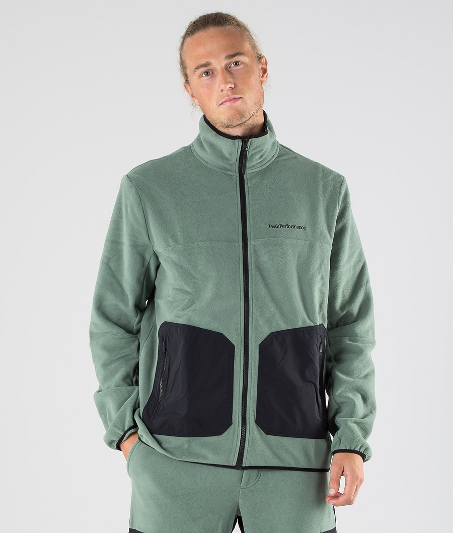 Peak Performance Tech Soft Fleece Trui Fells View