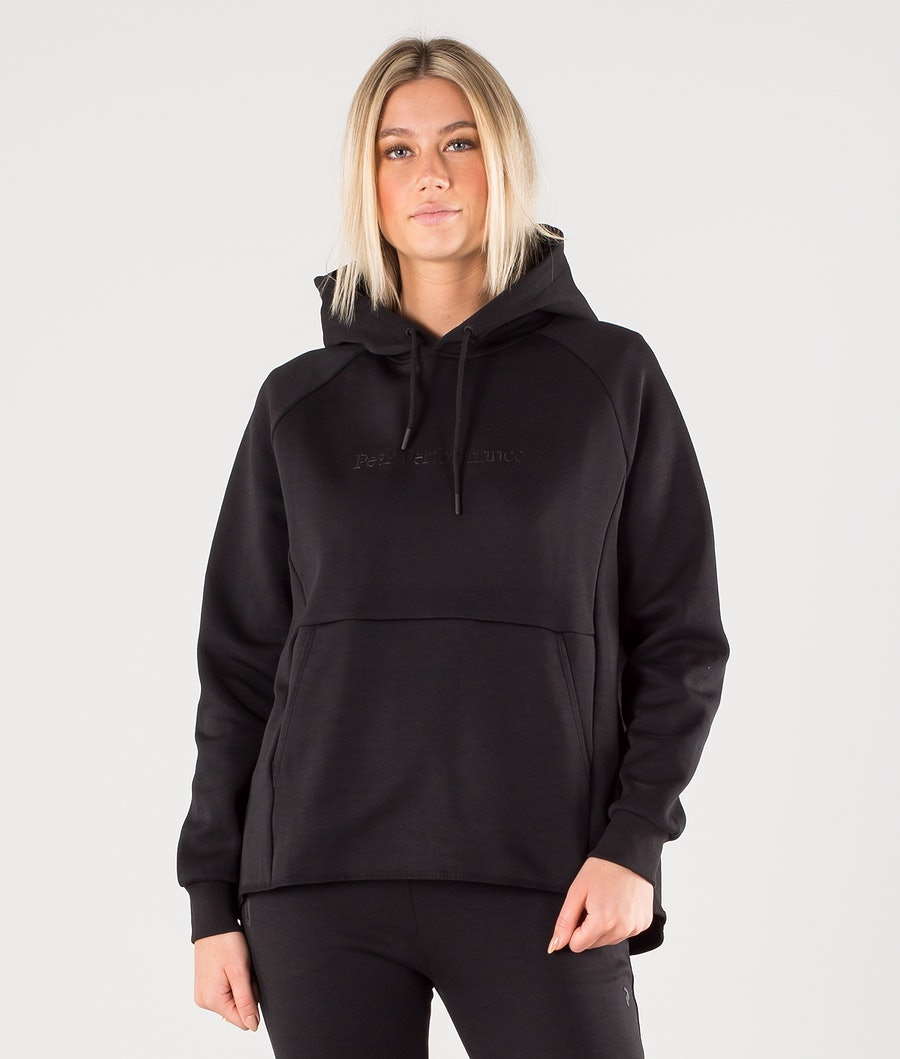 Peak Performance Tech Hoodie Black