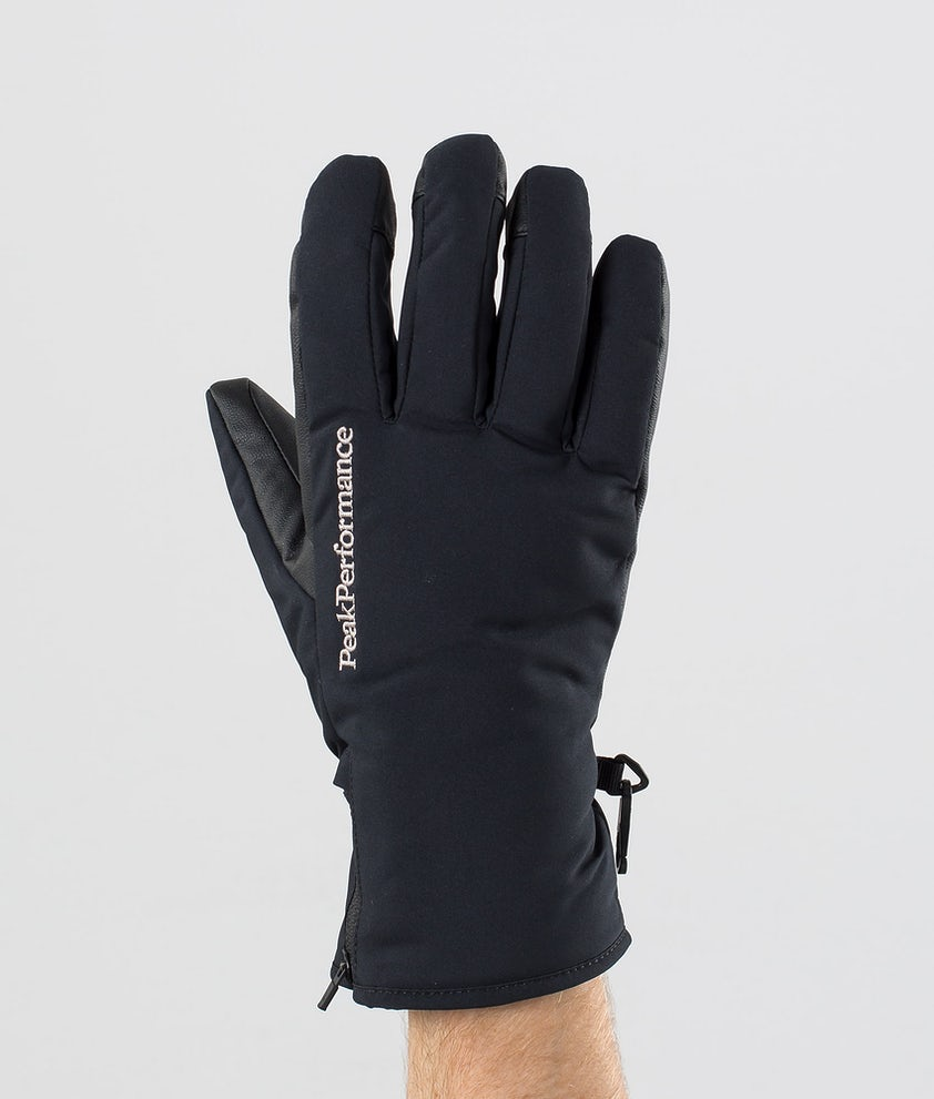 Peak Performance Unite Skihansker Black