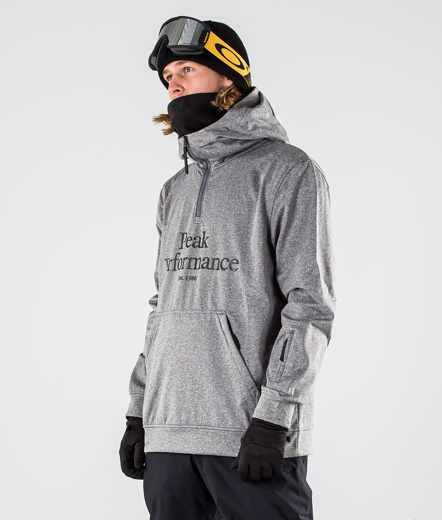 Peak Performance Original Ski SS Snowboardjacka Grey melange
