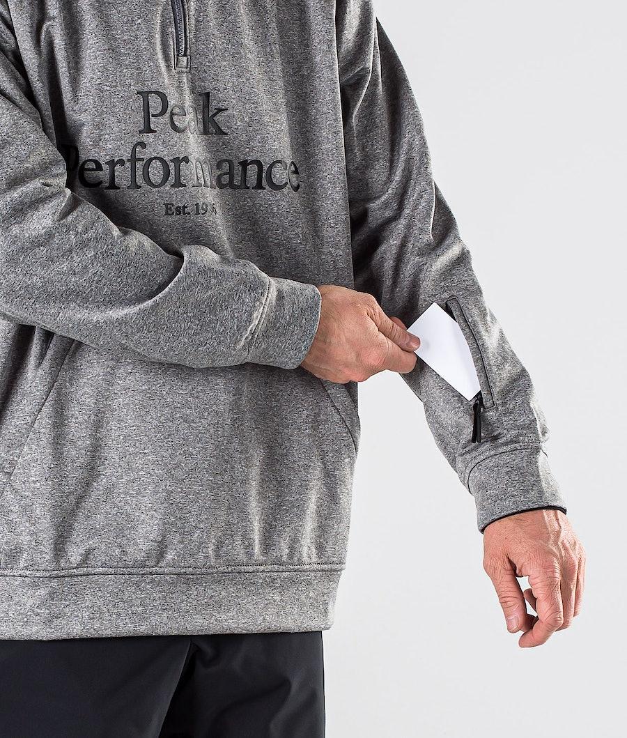 Peak Performance Original Ski SS Snowboard jas Grey melange