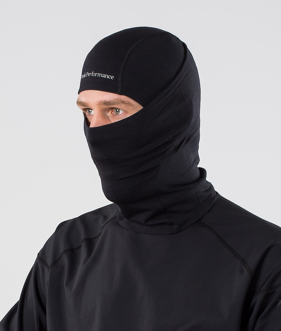 Peak Performance Balaclava Skimasker Black