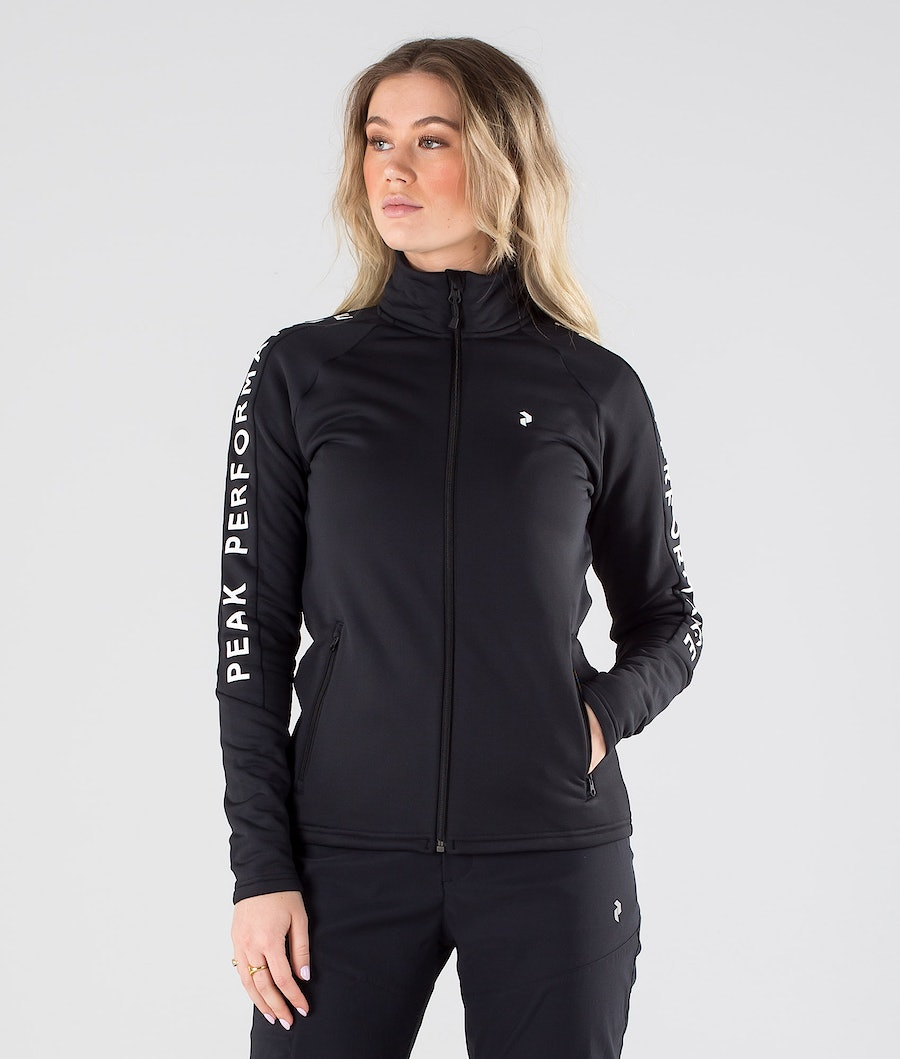 Peak Performance Rider Zip Gensere Black