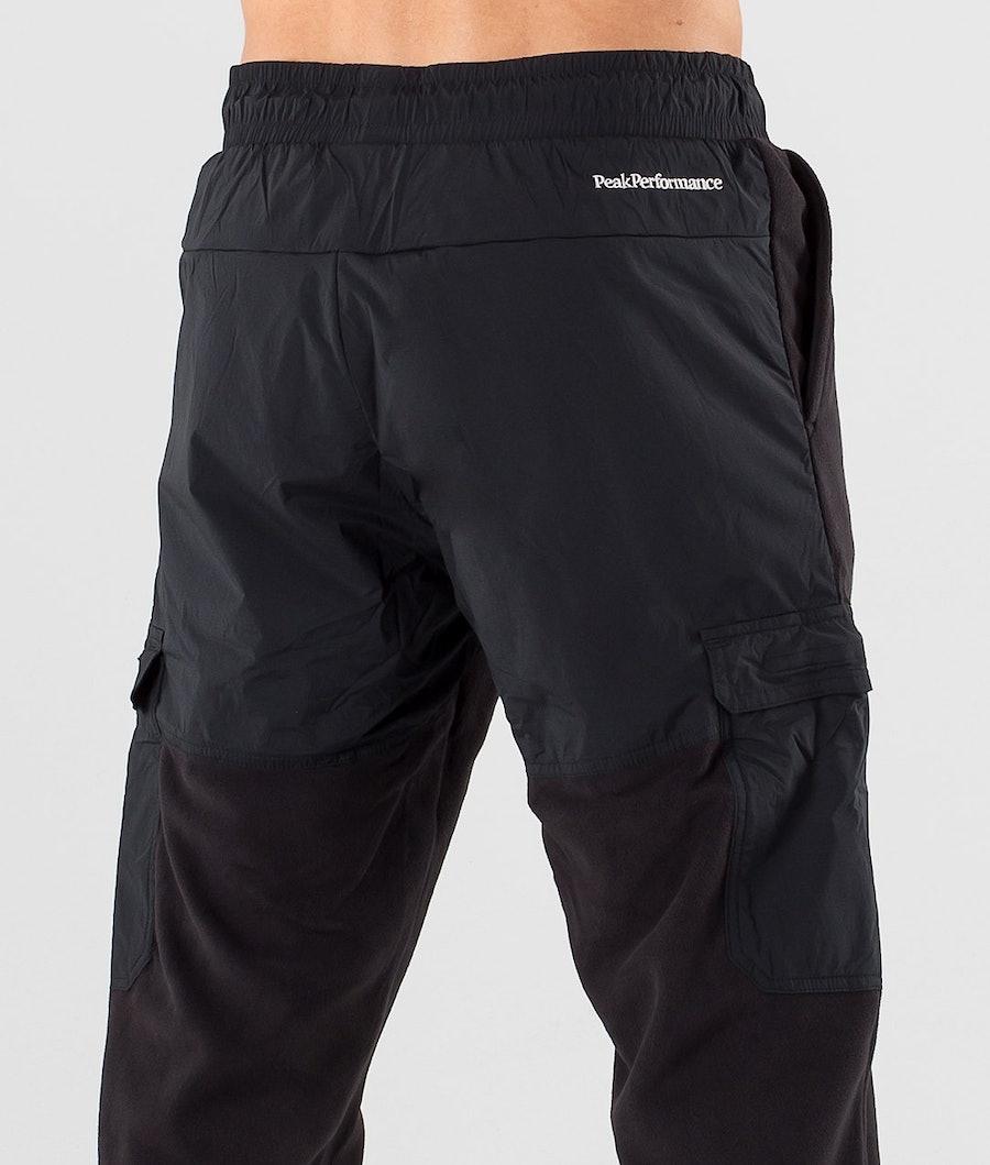 Peak Performance Tech Soft Fleecebukse Black