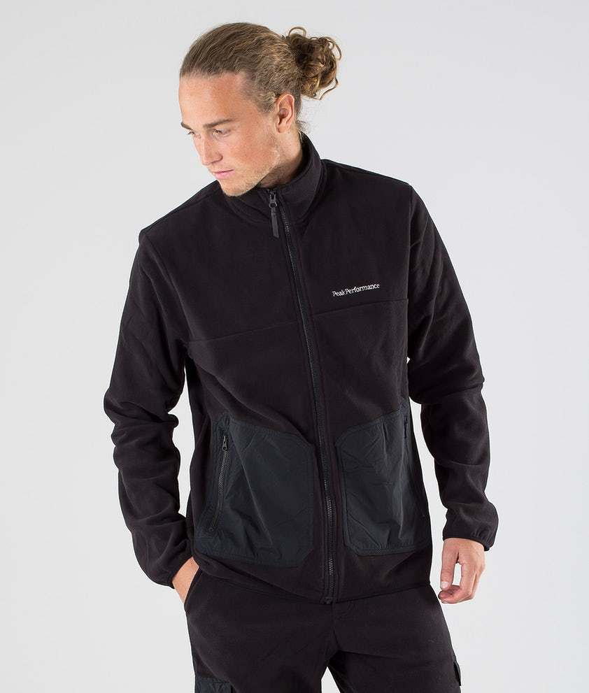 Peak Performance Tech Soft Fleecetröja Black