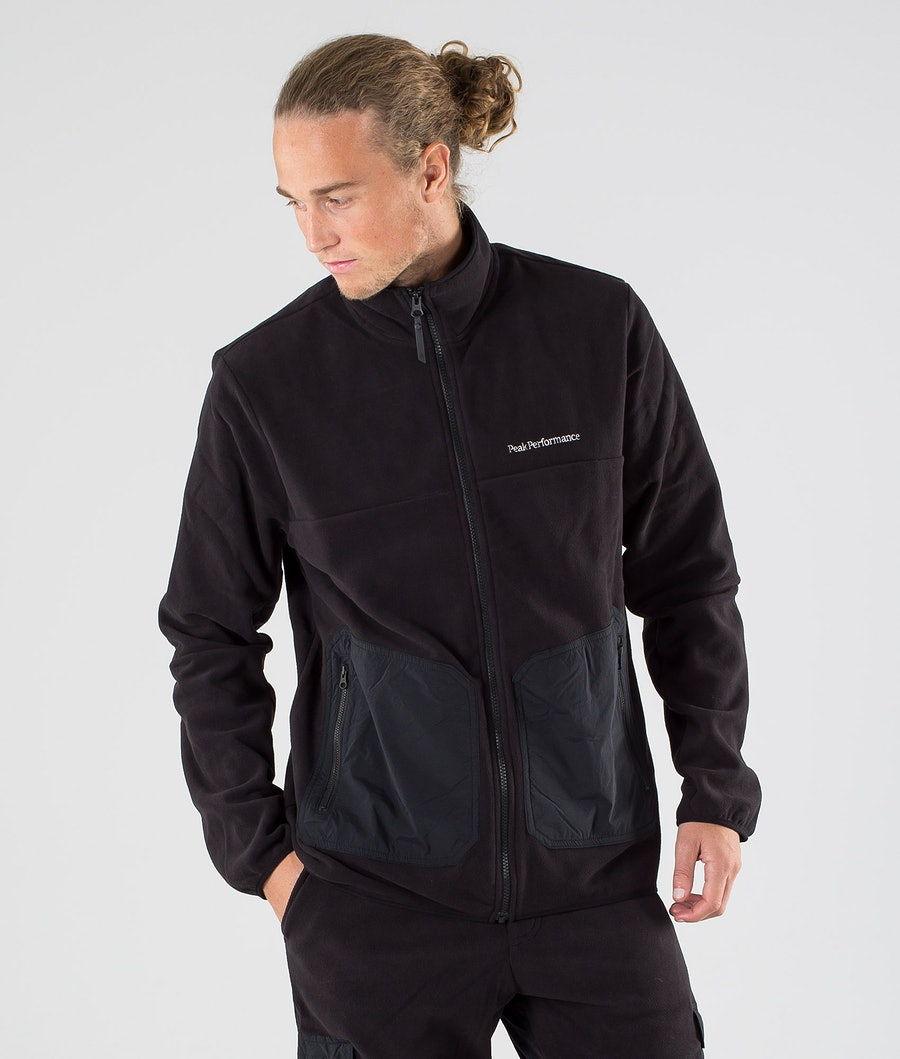 Peak Performance Tech Soft Fleece Sweater Black