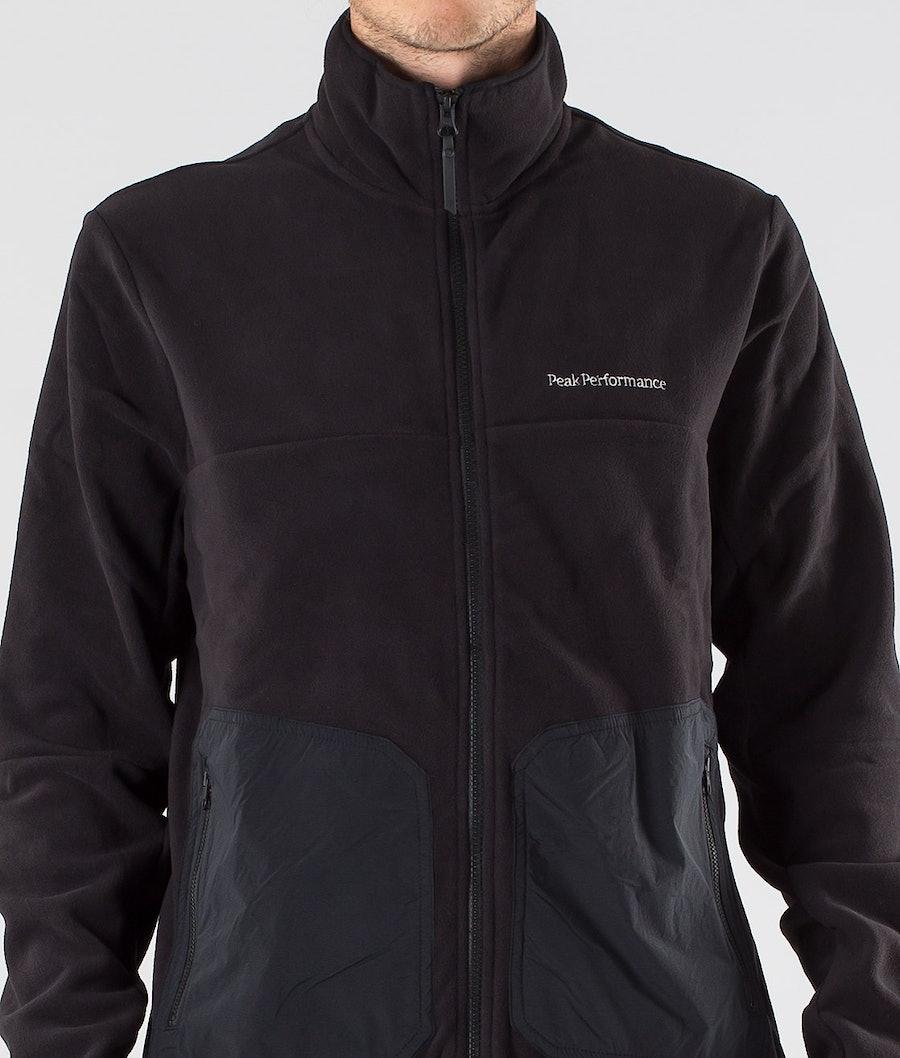 Peak Performance Tech Soft Fleecepullover Black