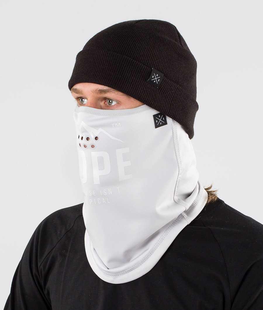 Dope Stanton Facemask Light Grey Paradise