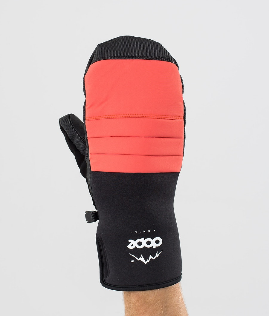 Dope Ace Mitt Snow Mittens Coral