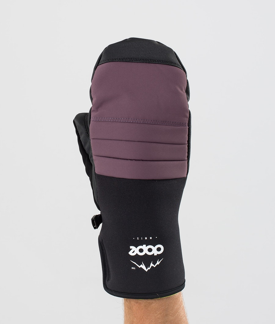 Dope Ace Mitt Hanskat Faded Grape