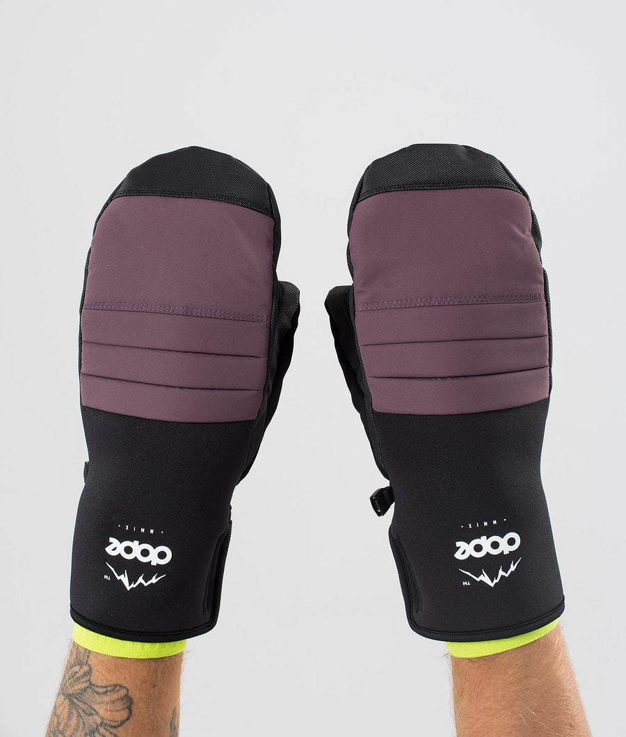 Dope Ace Mitt Snow Mittens Faded Grape
