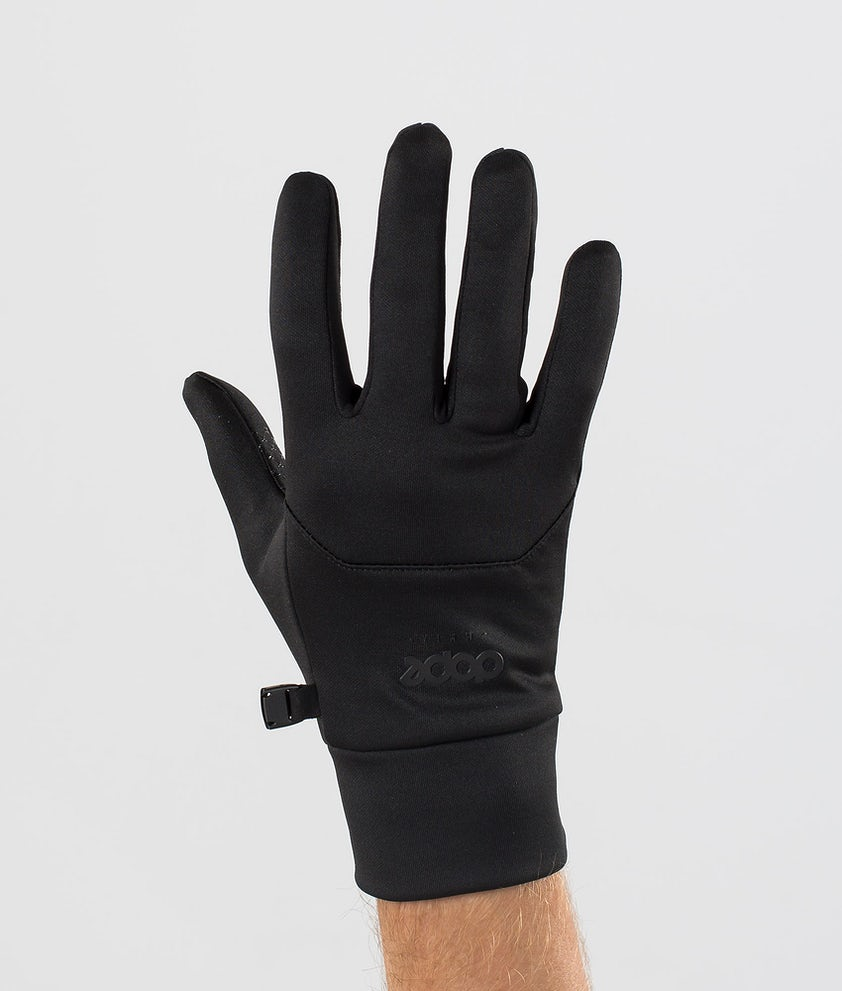 Dope Power Ski Gloves Black/Black