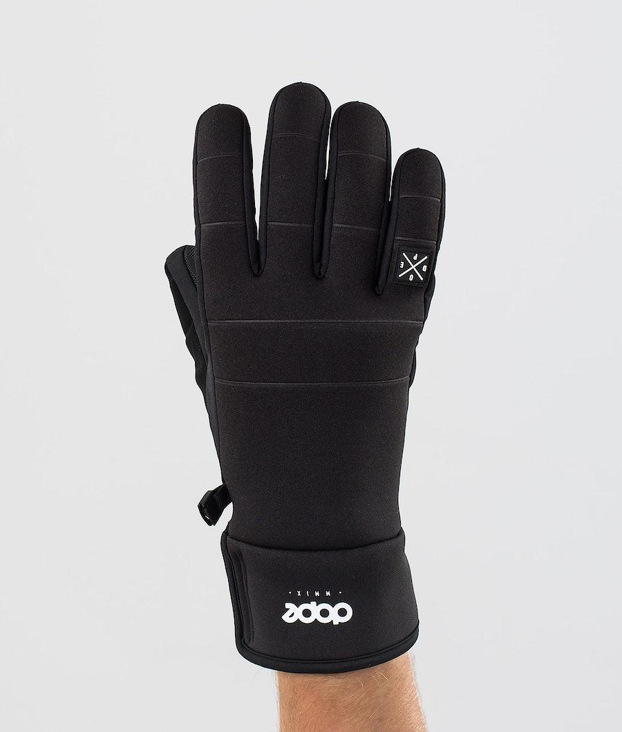 Dope Signet Glove Skihandschuhe Black/Black