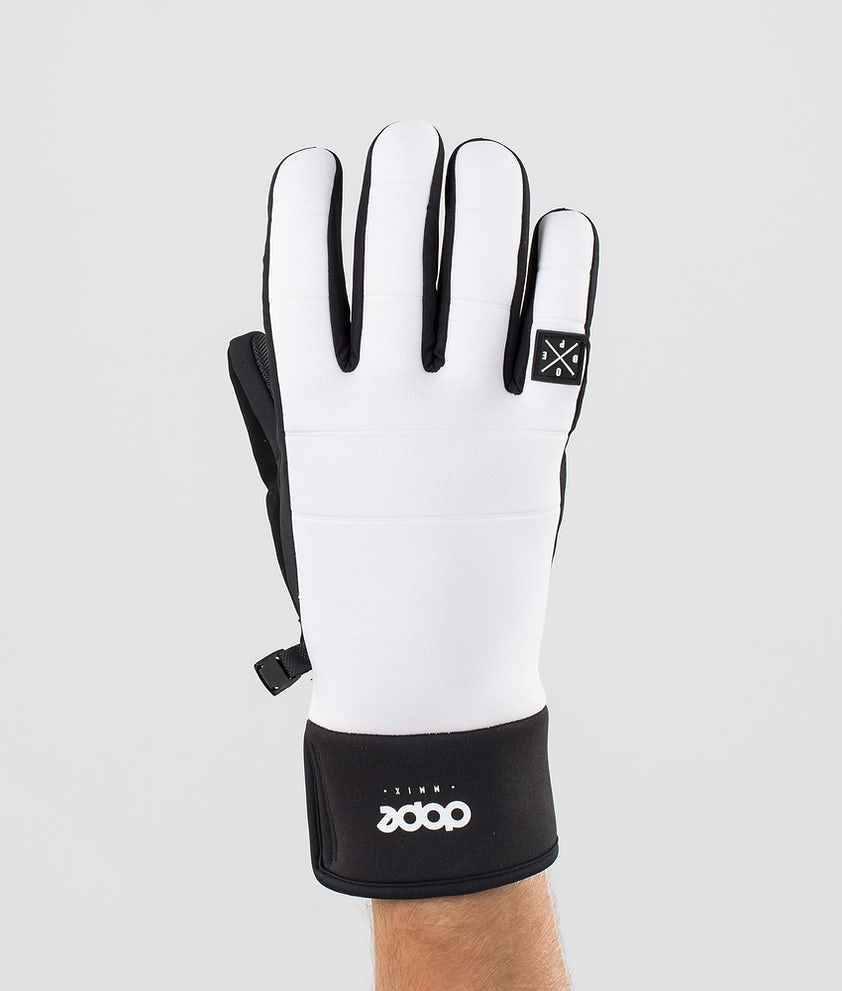 Dope Signet Glove Gants de Ski White/Black