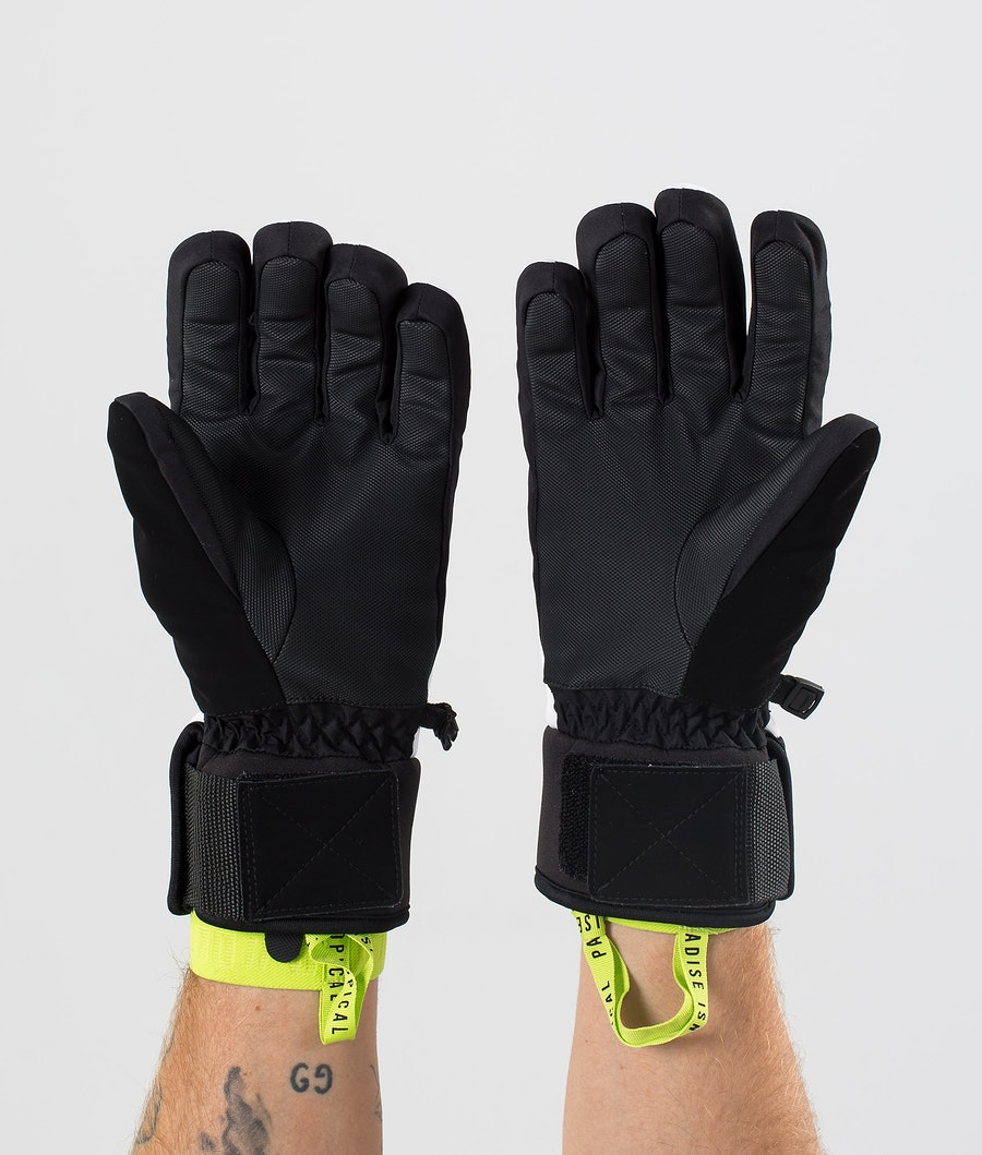 Dope Signet Glove Skidhandskar White/Black