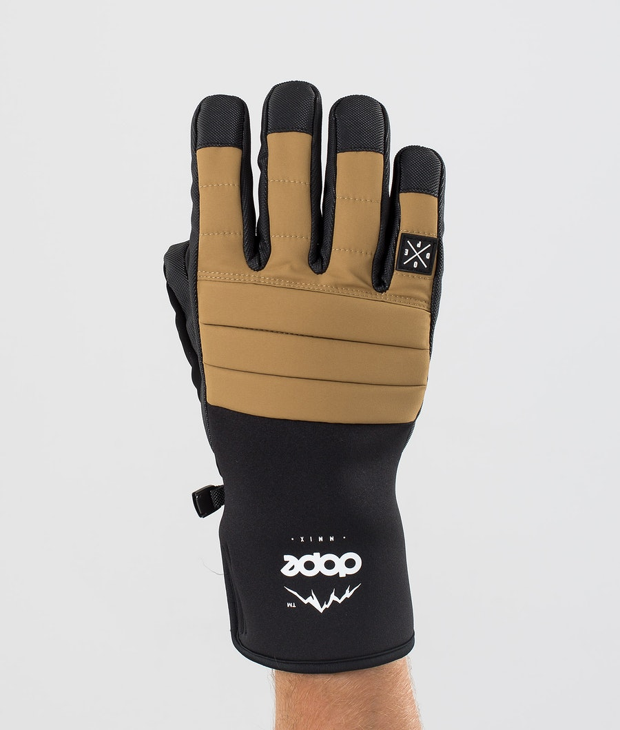 Dope Ace Glove Gants de Ski Gold