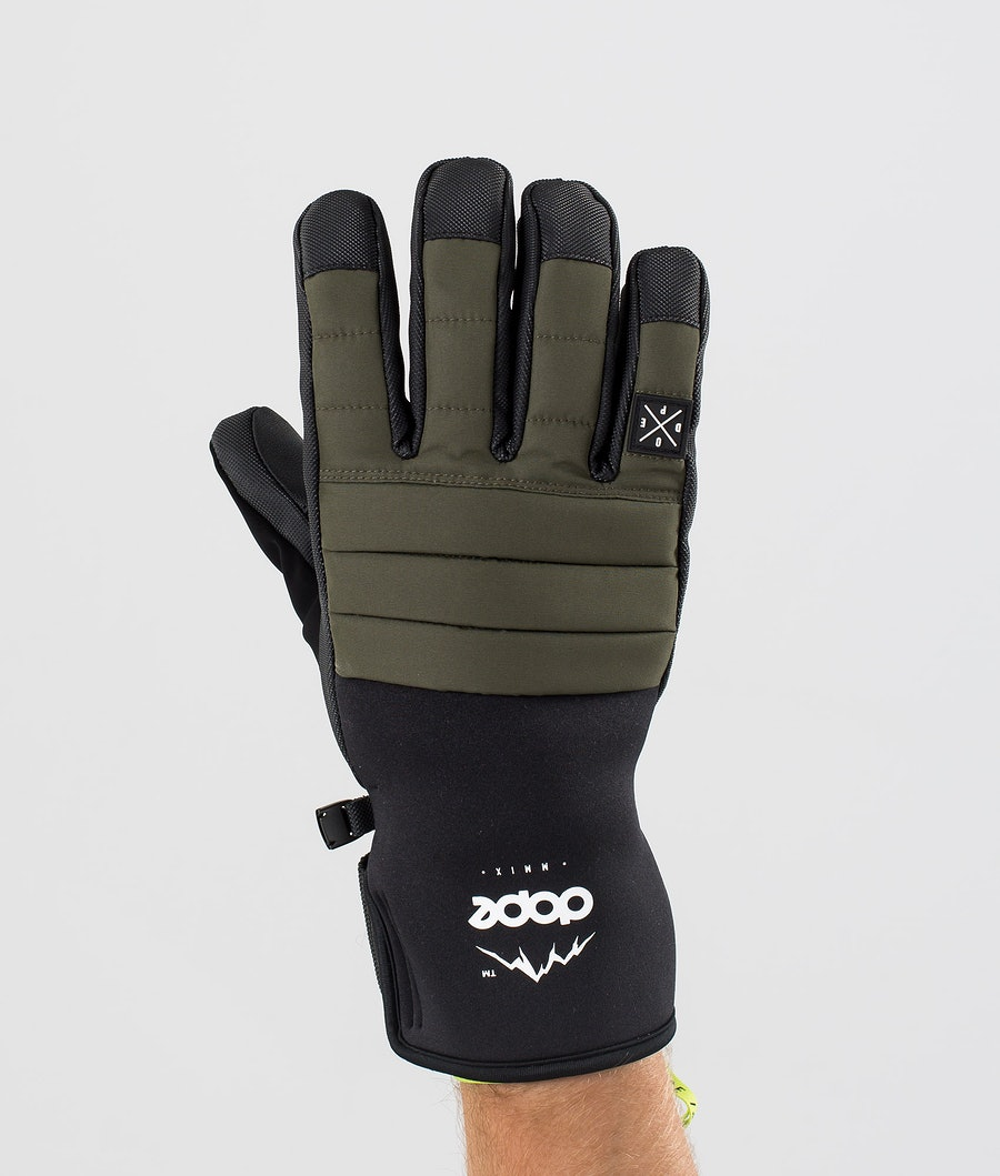 Dope Ace Glove Ski Gloves Olive Green