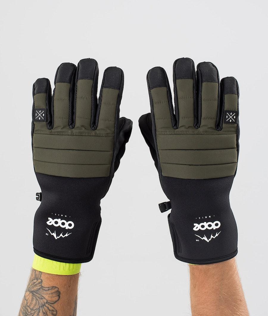 Dope Ace Glove Skihansker Olive Green
