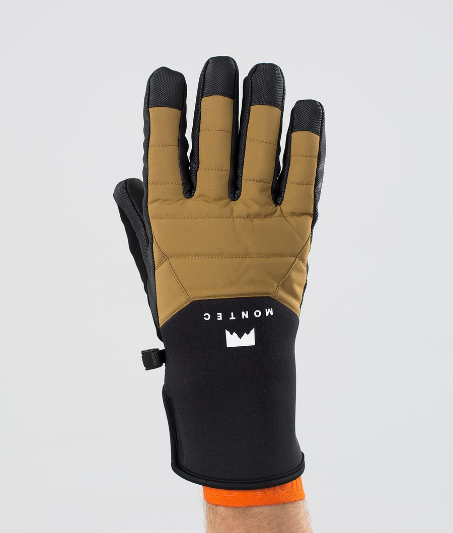 Montec Kilo Glove Ski Gloves Gold