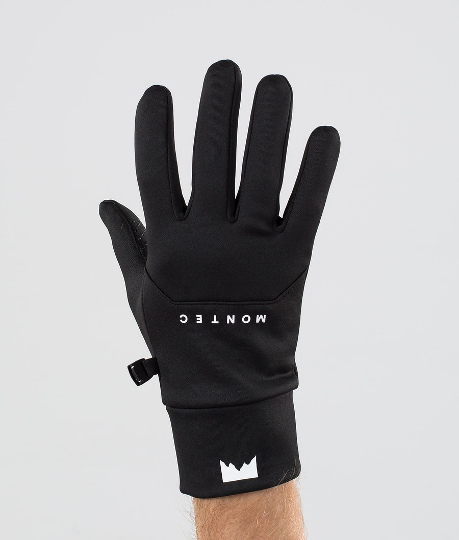 Montec Utility Glove Gants de Ski Black/White