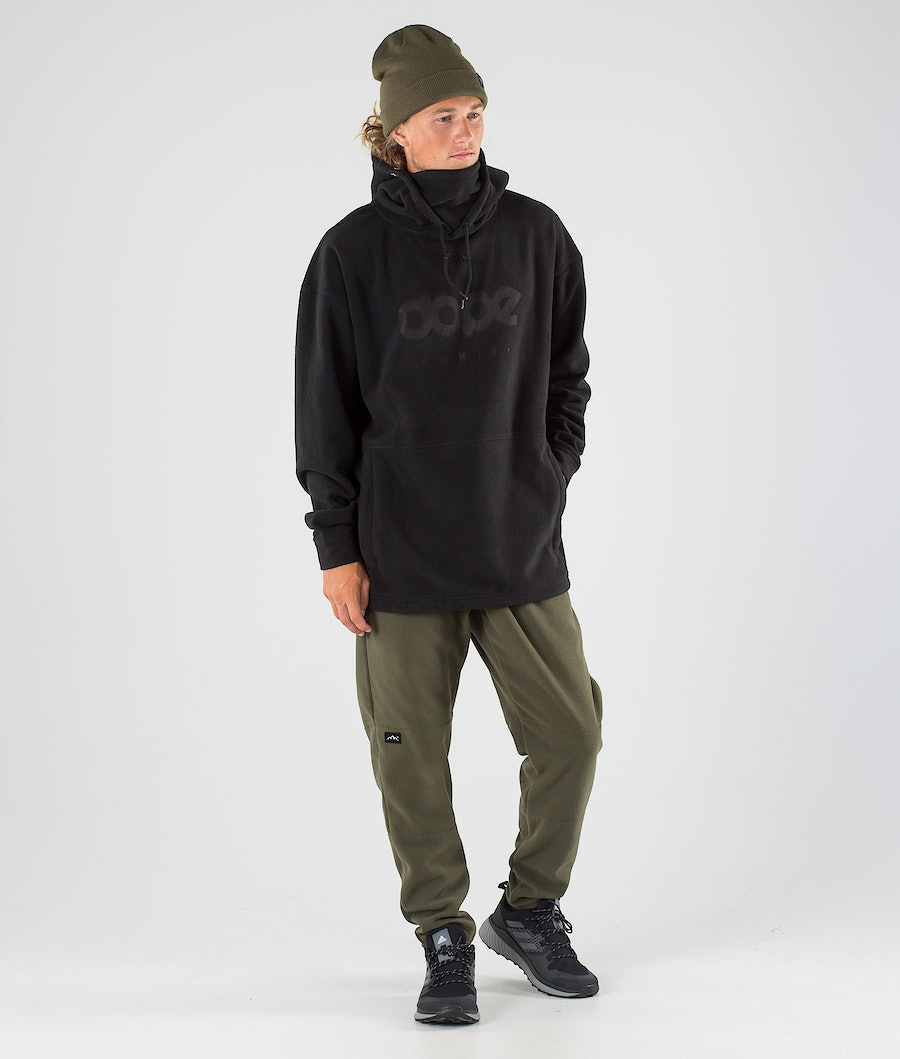 Dope Cozy II Fleecehood Black