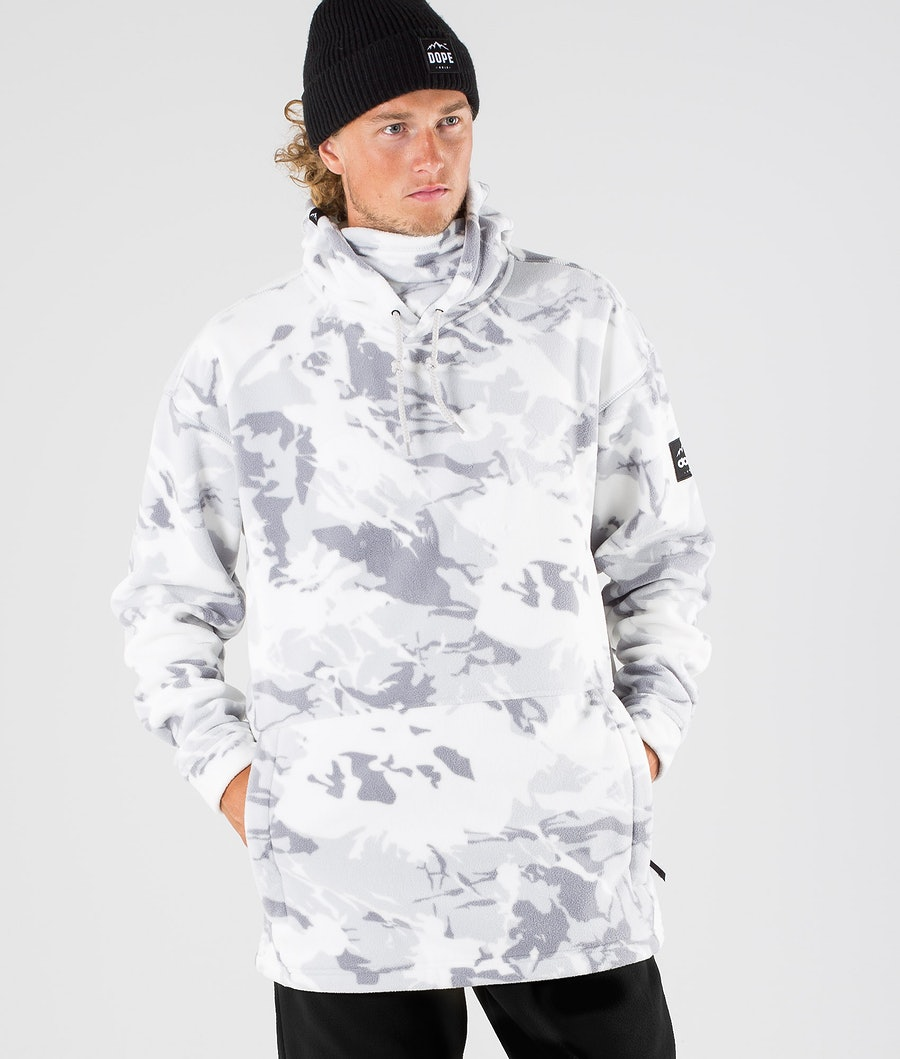 Dope Cozy II Fleece Hood Tucks Camo