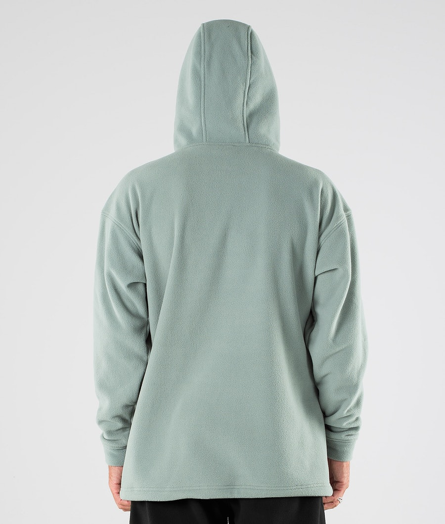 Dope Cozy II Pull Polaire Faded Green
