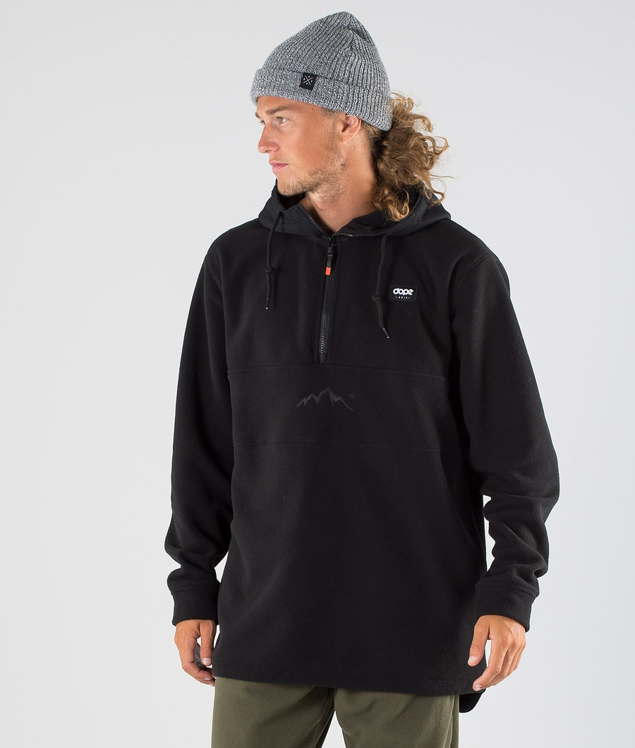 Dope Loyd PO Fleece Hood Black