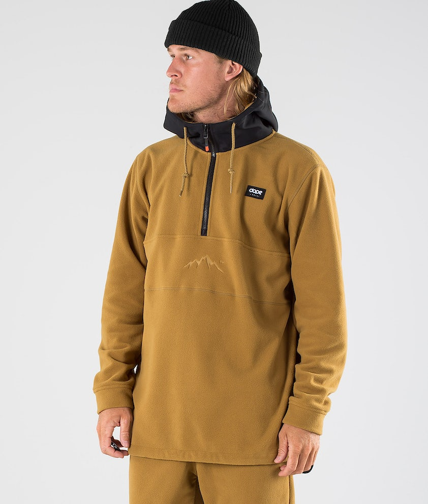 Dope Loyd PO Fleece Hoodie Black/Gold