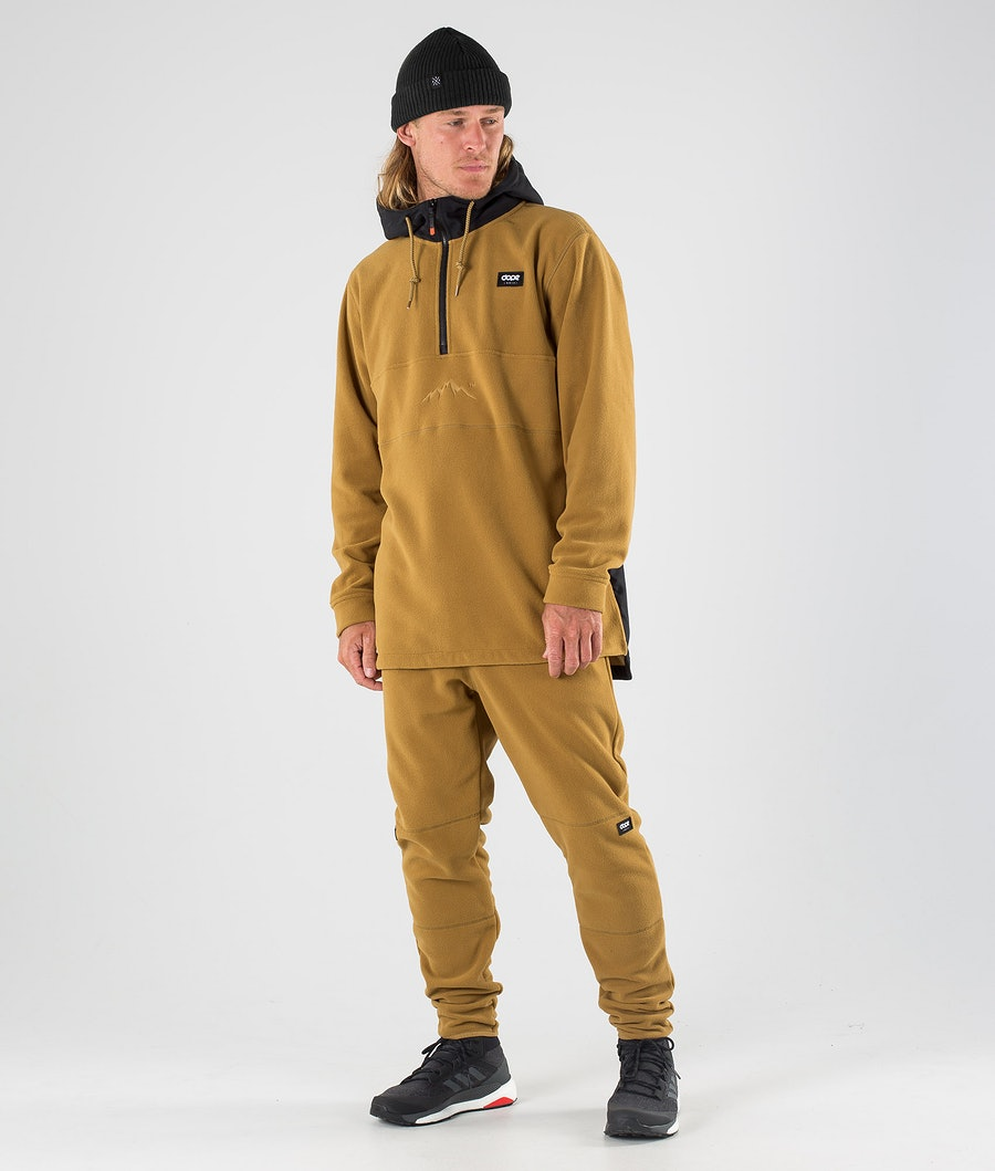 Dope Loyd PO Fleecehood Black/Gold