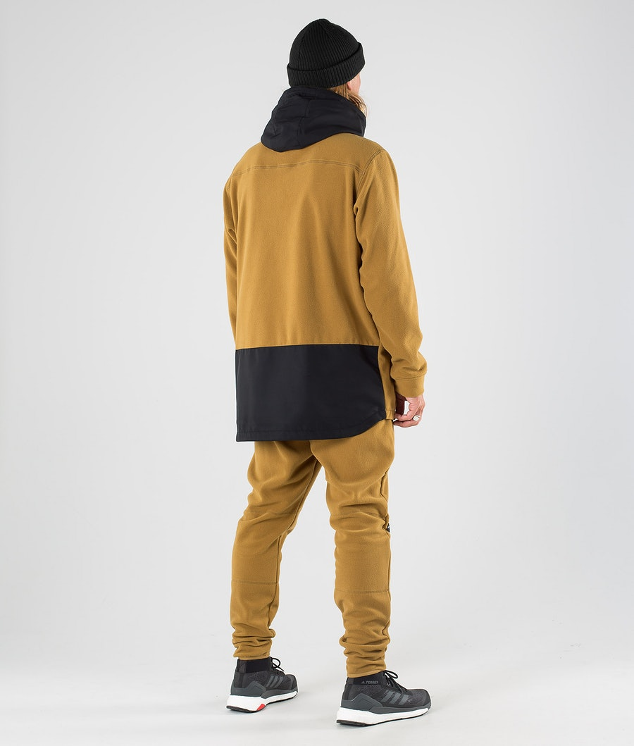Dope Loyd PO Fleecegenser Black/Gold