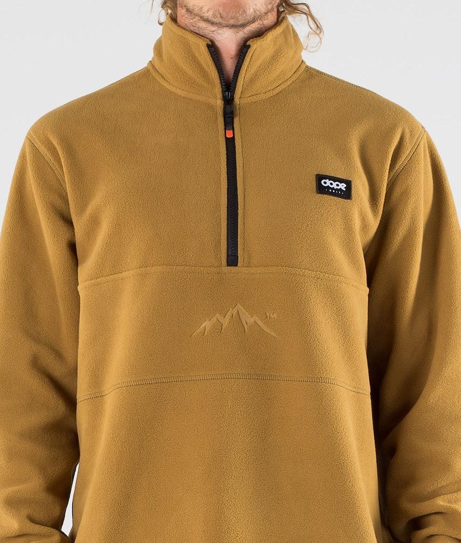 Dope Loyd Fleece Sweater Gold
