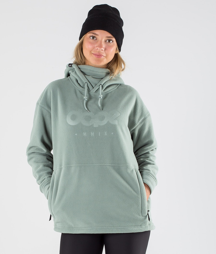 Dope Cozy II W Fleece Hoodie Damen Faded Green
